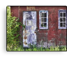 aged to beauty Canvas Print