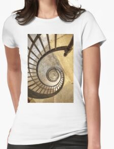 Spiral of decay Womens Fitted T-Shirt