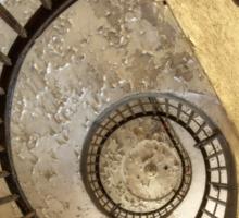 Spiral of decay Sticker