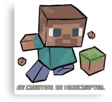 Minecraft Art Canvas Print