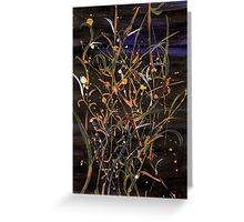 Firework Greeting Card