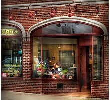 Over at the Bakery Photographic Print