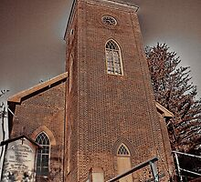 St Thomas Church Sepia by odarkeone