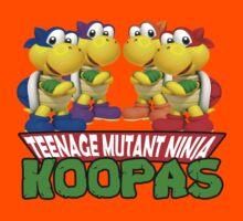 Teenage Mutant Ninja Koopas Kids Tee
