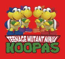Teenage Mutant Ninja Koopas One Piece - Short Sleeve