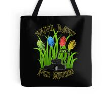 Will mow for rupees Tote Bag