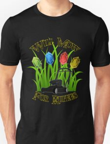Will mow for rupees Unisex T-Shirt