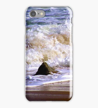 Tides frothy waves iPhone Case/Skin