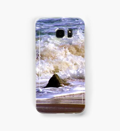 Tides frothy waves Samsung Galaxy Case/Skin