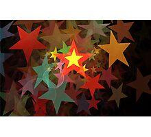 Falling Stars Photographic Print
