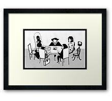 Chairman of the Bored Framed Print