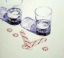 peppermint schnapps  by wulffenartist