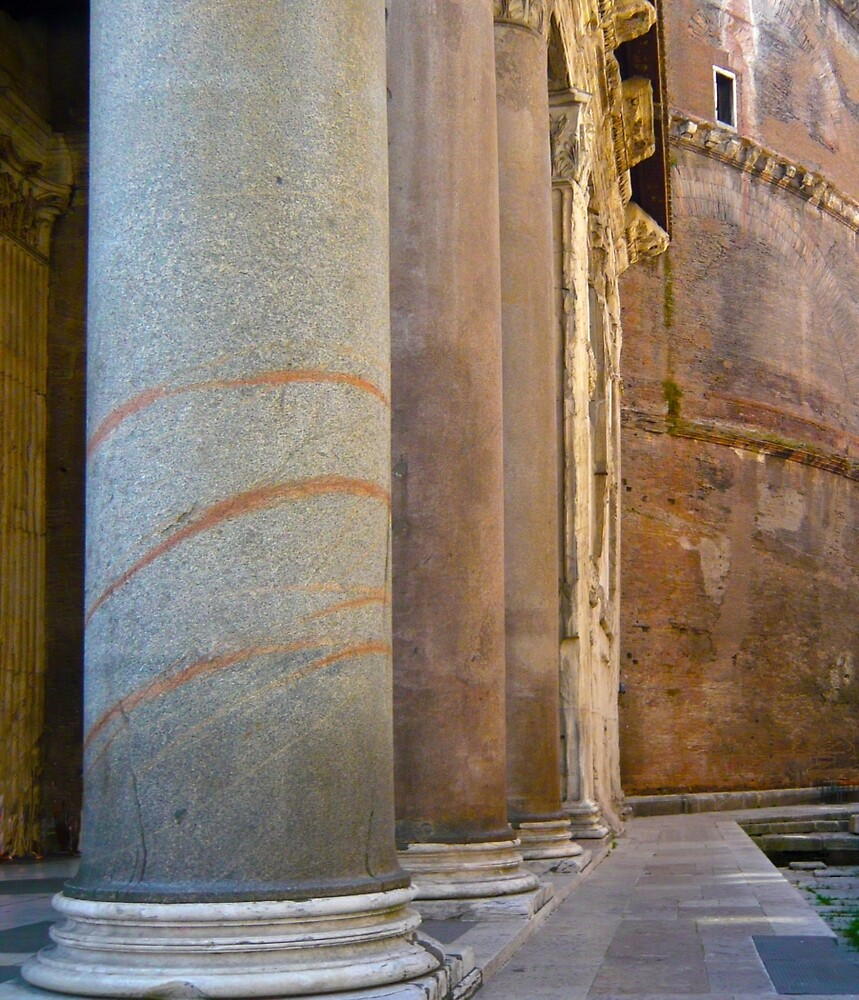 Pantheon Detail by Thomas Barker-Detwiler