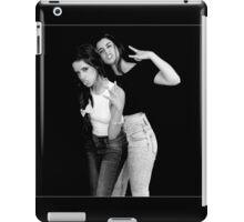 Camren Black and white iPad Case/Skin