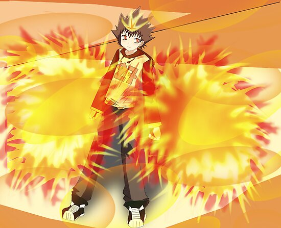 Tsuna: Hyper mode by Cresendo