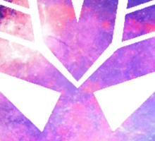 Decepticon Galaxy Art Sticker