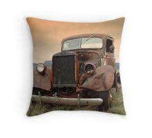Arizona Rust Throw Pillow
