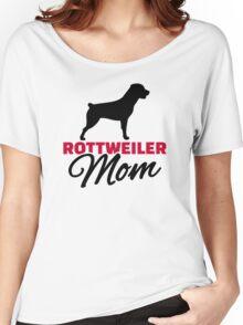 Rottweiler Mom Women's Relaxed Fit T-Shirt