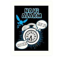Navi Alarm Art Print