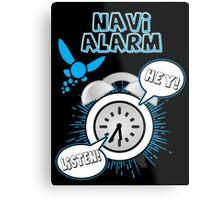 Navi Alarm Metal Print