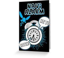 Navi Alarm Greeting Card