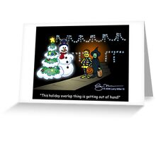 Holiday Overlap Greeting Card