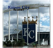 Kansas City Baseball Photographic Print