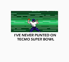 NES Nintendo Tecmo Super Bowl I've Never Punted Men's Baseball ¾ T-Shirt