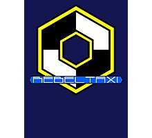 Rebel Taxi logo 3 Photographic Print