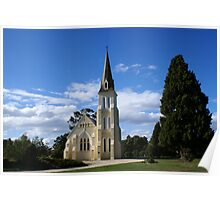Evandale Church, Tasmania Poster