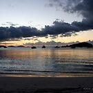 Maho Bay Sunset by Jerry  Mumma