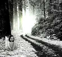 woodland  angel by artisticjodi88