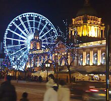 Belfast City Hall at Christmas by mishell