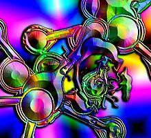 Psychedellic Marilyn by treddcreations