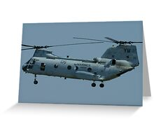 CH-46 Sea Knight Greeting Card