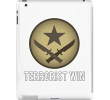 Counter Strike - Terrorist Win iPad Case/Skin