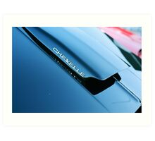 Chevelle Cowl Induction Hood Art Print