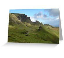 Trotternish Skye Greeting Card