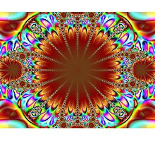 psychedelic chandelier Photographic Print