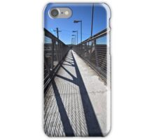 Train Station in Goulburn/NSW/Australia (6) iPhone Case/Skin