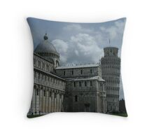 Pisa at a Glance Throw Pillow
