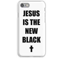 Black Jesus iPhone Case/Skin