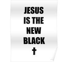 Black Jesus Poster