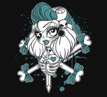 Pirate Bones Penelope by Miss Cherry  Martini