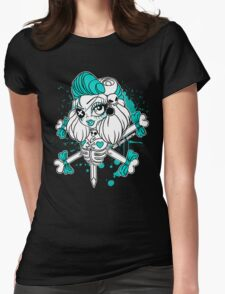 Pirate Bones Penelope Womens Fitted T-Shirt