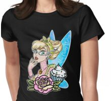 Tattooed Fairy Womens Fitted T-Shirt