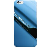 Chevelle Cowl Induction Hood iPhone Case/Skin