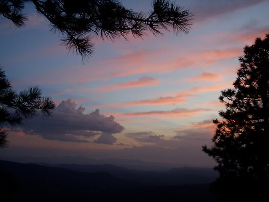 Sunset Mogollon Rim, AZ by rmenaker