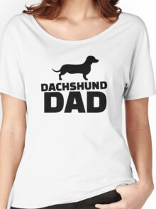 Dachshund Dad Women's Relaxed Fit T-Shirt