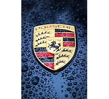 Porsche Badge Photographic Print